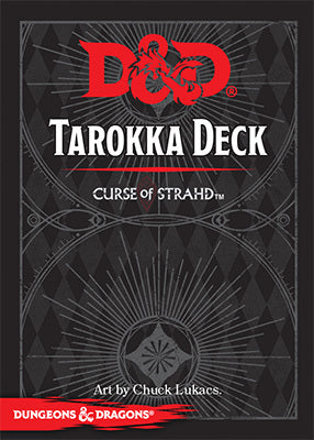 D&D RPG: Curse of Strahd - Tarokka Deck