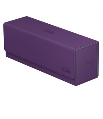 Deck Box: Ultimate Guard - Arkhive 400+ Standard Size Xenoskin, Purple