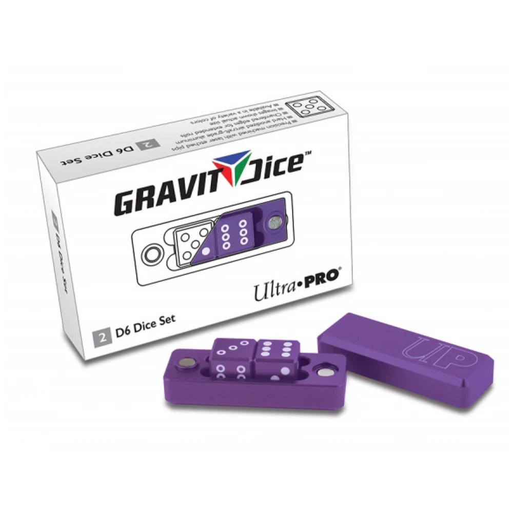 Dice: Ultra PRO - D6 Gravity, Royal (x2)