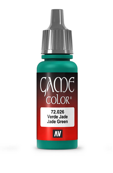 Vallejo Paints: Game Color - Jade Green (17ml)