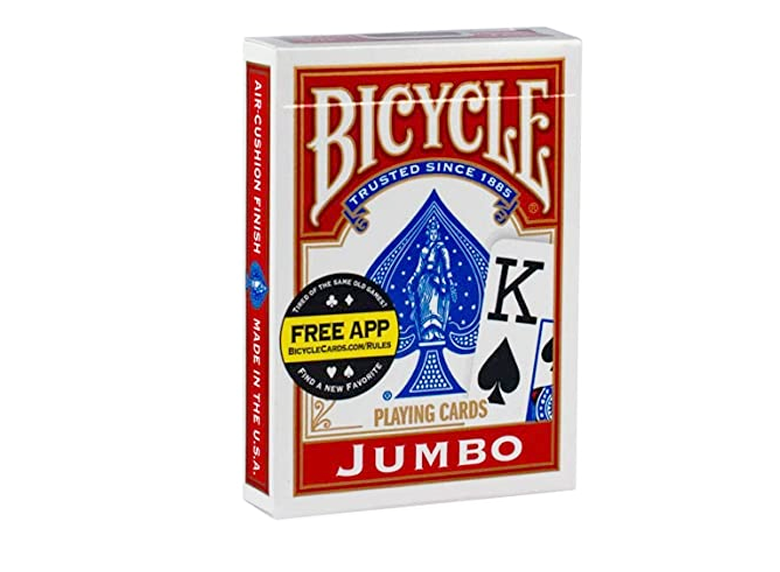 Playing Cards: Bicycle - Jumbo Index, Red