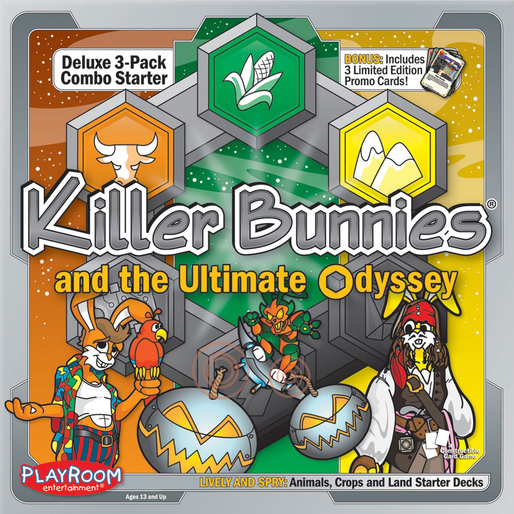 Killer Bunnies Odyssey Lively and Spry Starter Combo