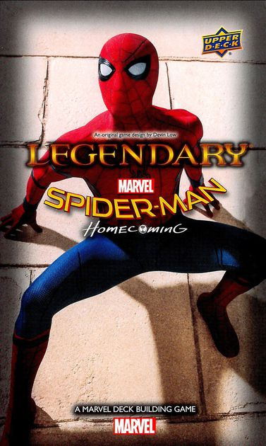 Legendary: A MARVEL DBG - Spider-Man Homecoming