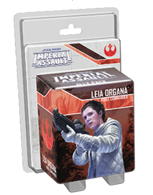 Star Wars: Imperial Assault - Leia Organa (Ally)