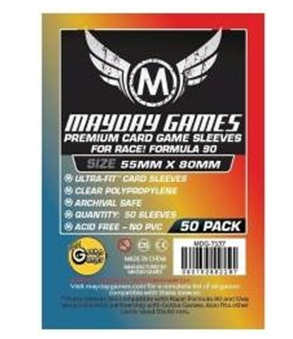 Sleeves: Mayday - Premium - Race! Formula 90 (55 x 80mm) (x50)