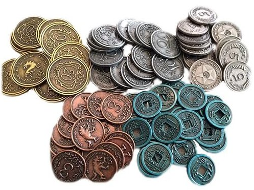 Viticulture - Metal Lira Coins
