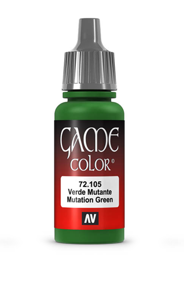 Vallejo Paints: Game Color - Mutation Green (17ml)