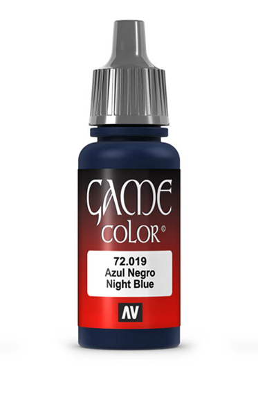 Vallejo Paints: Game Color - Night Blue (17ml)