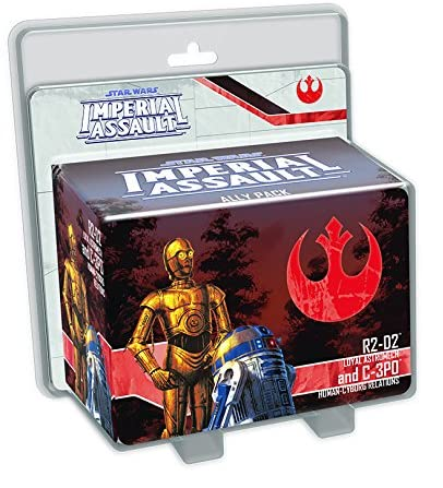 Star Wars: Imperial Assault - R2-D2 and C-3PO (Ally)