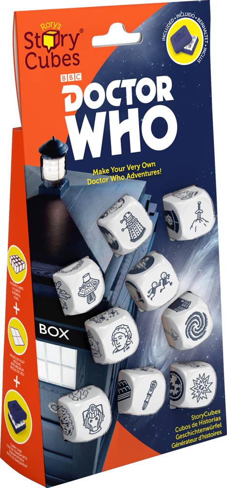 Rory's Story Cubes: Dr. Who  (اللعبة الأساسية)