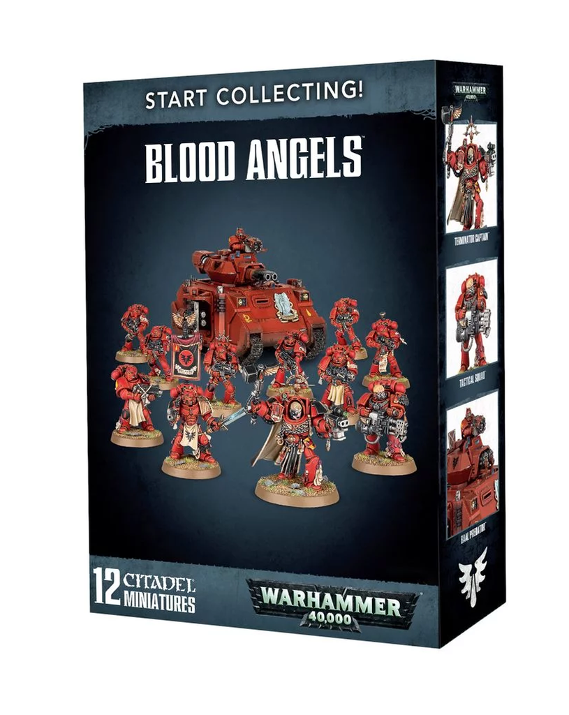 WH 40K: Blood Angels - Start Collecting!