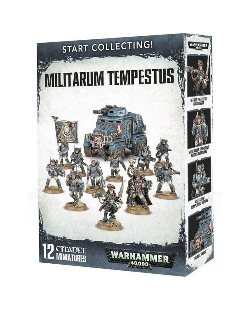 WH 40K: Militarum Tempestus - Start Collecting!