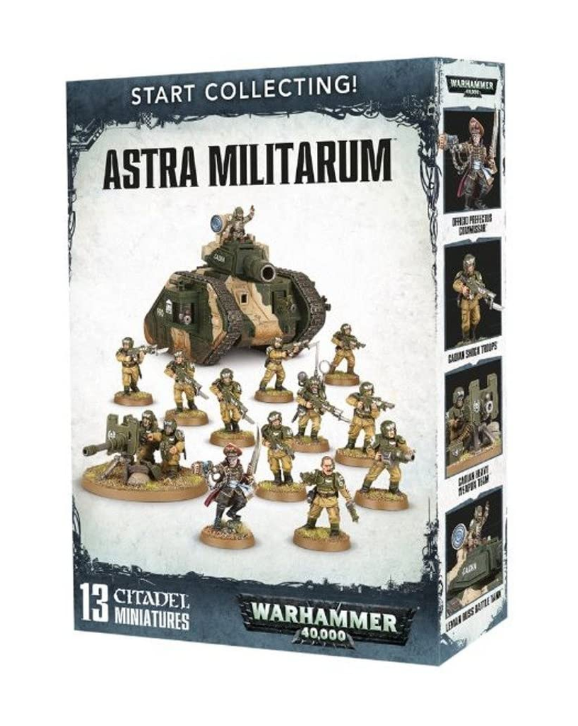WH 40K: Astra Militarum - Start Collecting!