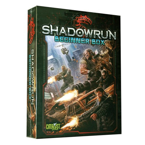 Shadowrun (5th Ed.) RPG: Beginner Box Set