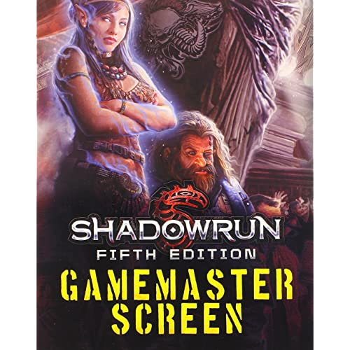 Shadowrun (5th Ed.) RPG: GM Screen