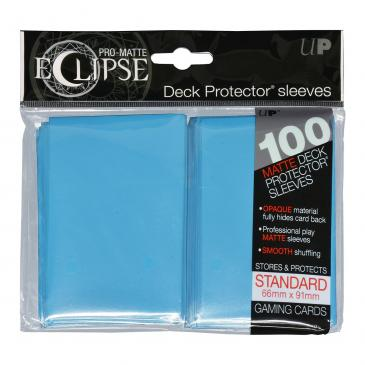 Sleeves: Ultra PRO - Standard - PRO-Matte Eclipse, Sky Blue (x100)