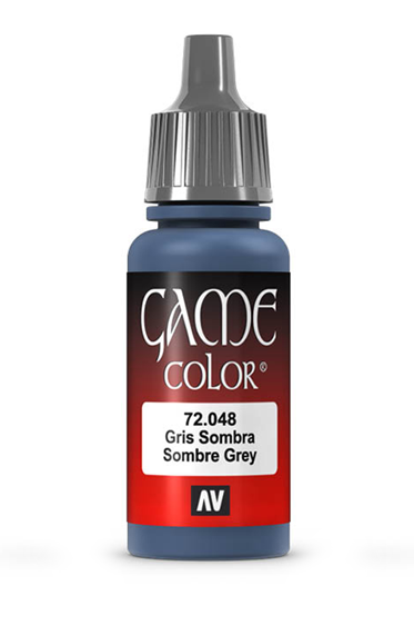 Vallejo Paints: Game Color - Sombre Grey (17ml)