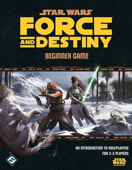 Star Wars RPG: Force and Destiny Beginner Game
