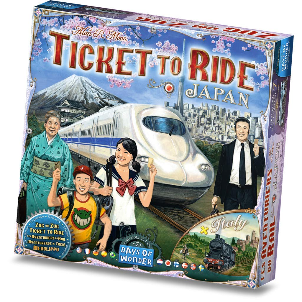 Ticket to Ride: Vol 07 - Japan & Italy