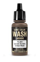 Vallejo Paints: Game Color - Umber Wash (17ml)