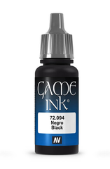 Vallejo Paints: Game Color - Black Ink (17ml)