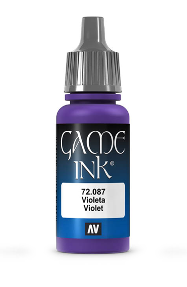Vallejo Paints: Game Color - Violet Ink [17ml] (صبغ المجسمات)