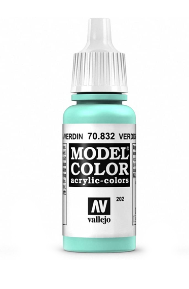Vallejo Paints: Game Color - Verdigris Glaze (17ml)