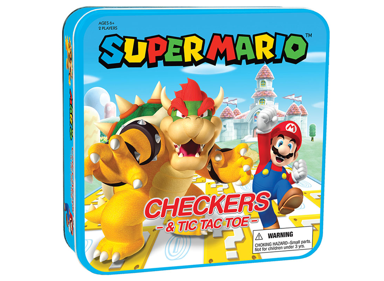 Checkers, Tic-Tac-Toe: The OP - Super Mario Vs Bowser