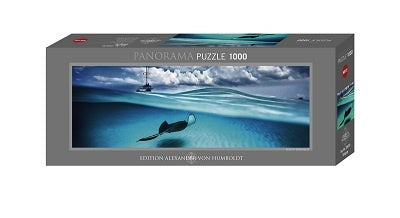 Puzzle HY: David Doubilet - Stingray (1000 pcs)