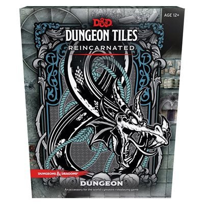 D&D RPG: Dungeon Tiles - Reincarnated Dungeon