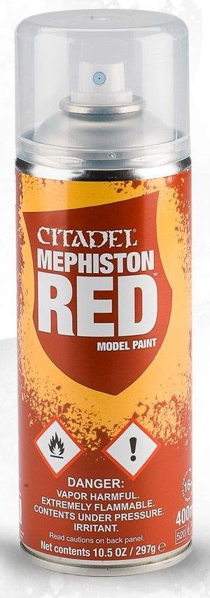 Citadel: Spray Primers, Mephiston Red