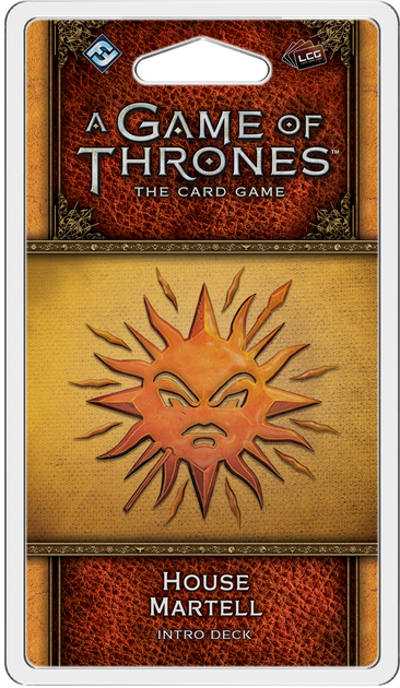 GOT: LCG (2nd Ed) - Pack 41: House Martell Deck