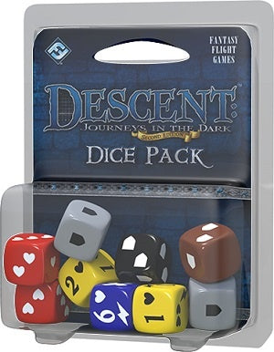 Descent: Journeys in the Dark [2nd Ed] - Dice Pack (إضافة للعبة المجسمات)