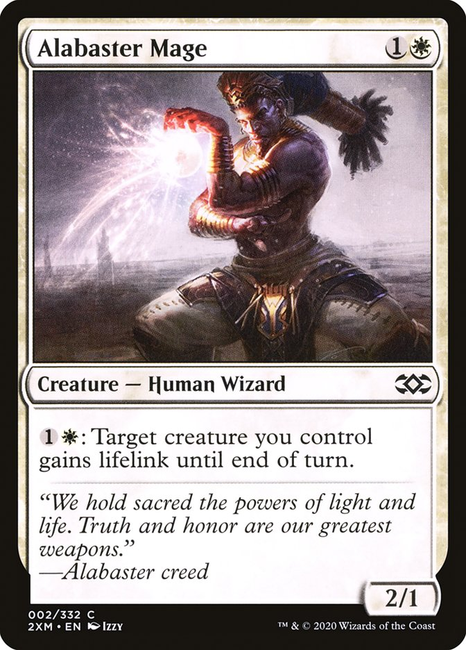 Alabaster Mage [Double Masters]