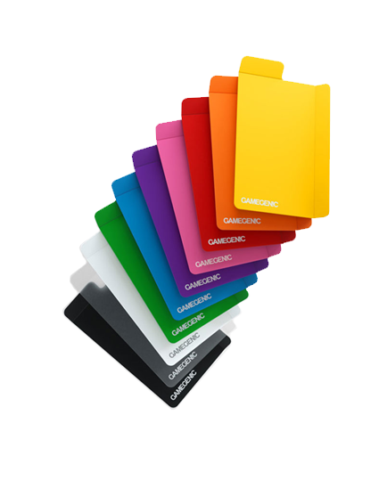 Card Dividers: Gamegenic - Flex, Multicolored (x10)
