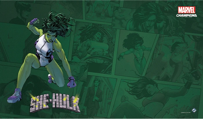 Marvel LCG - Playmat - She-Hulk