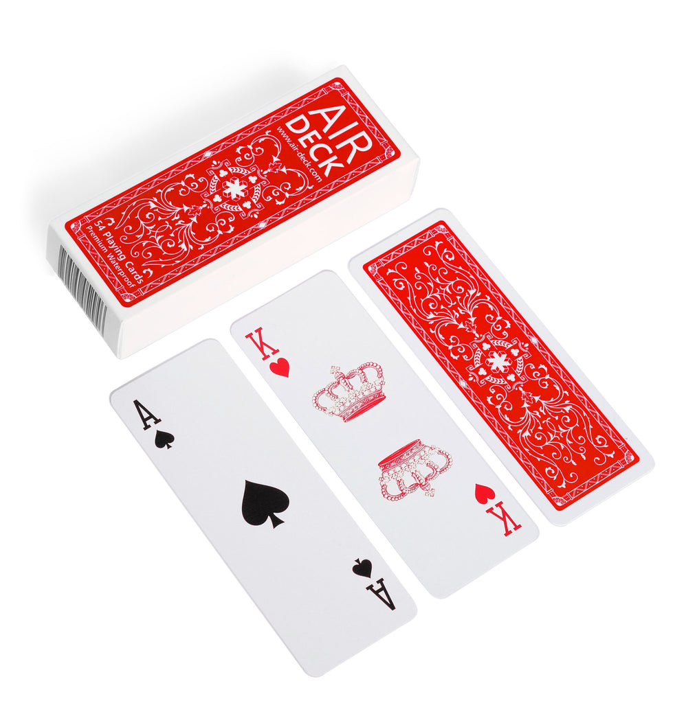 Playing Cards: Air Deck - Classic Red