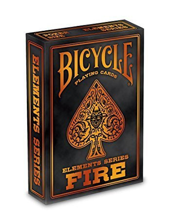 Playing Cards: Bicycle - Fire (ورق لعب)