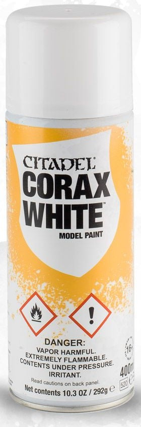 Citadel: Spray Primers, Corax White