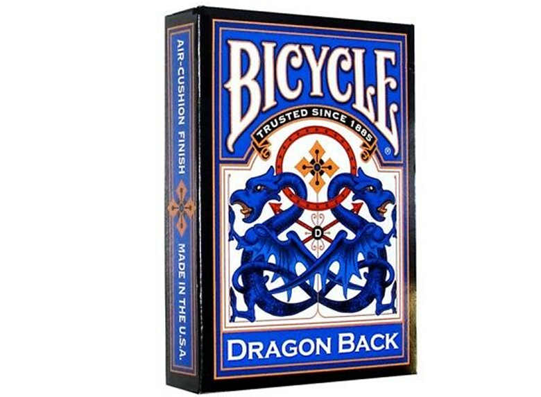 Playing Cards: Bicycle - Dragon Back, Blue
