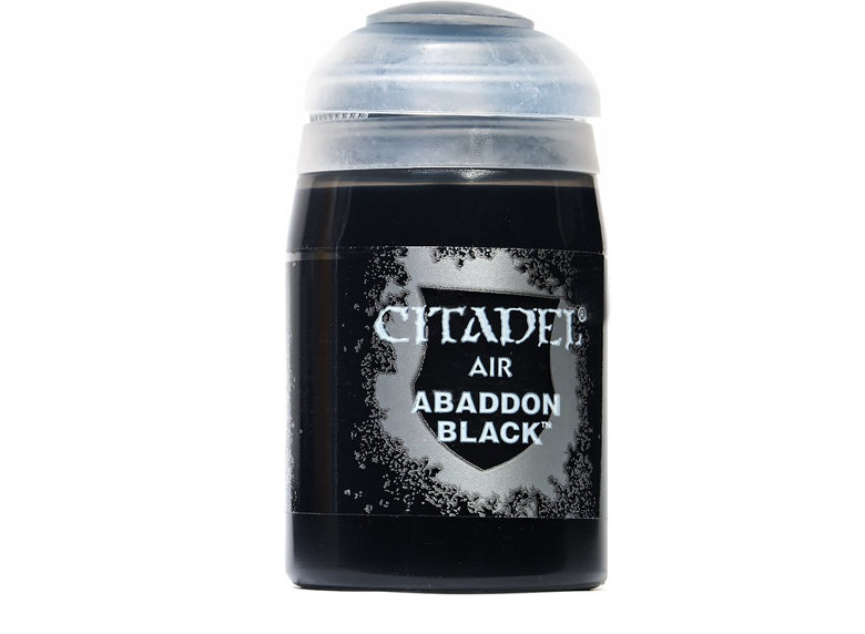 Citadel: Air Paints, Abaddon Black