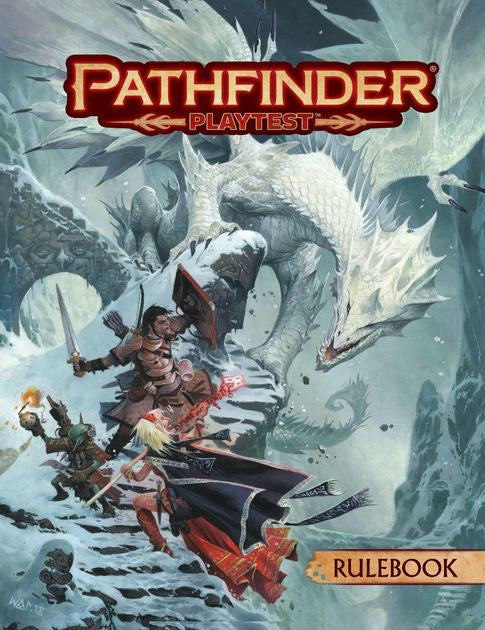 Pathfinder (2nd. Ed.) RPG: Playtest - Rulebook (Hardcover)