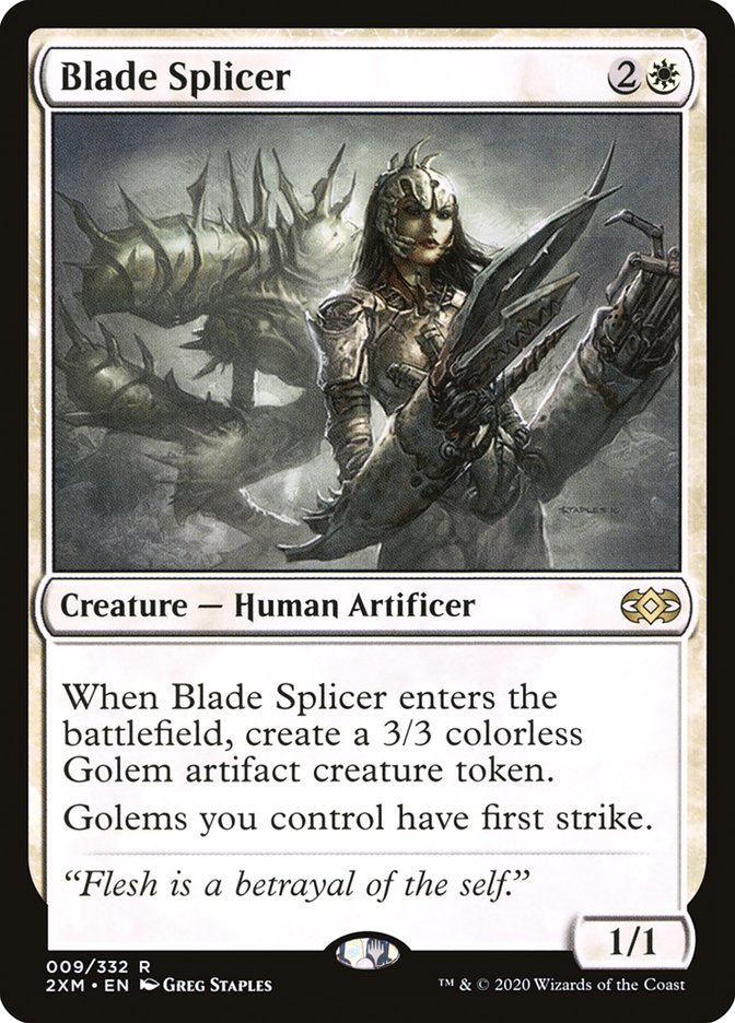 Blade Splicer [Double Masters]