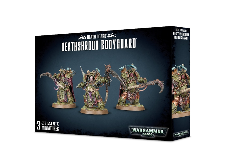 WH 40K: Death Guard - Deathshroud Bodyguard