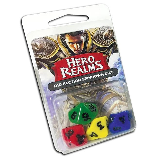 Hero Realms - Life Counter 16mm Dice