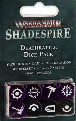 WH Underworlds: Shadespire - Deathrattle Dice Set