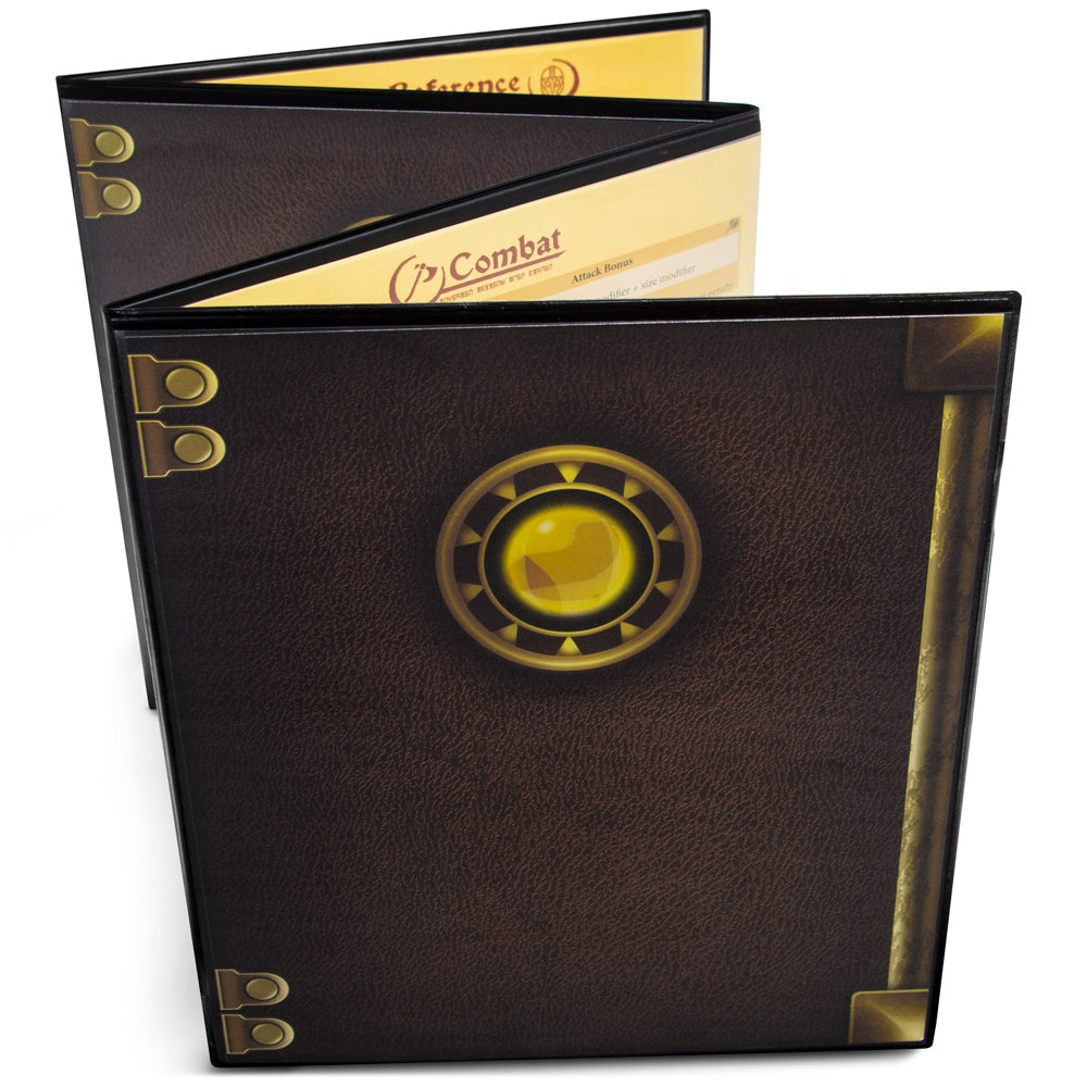 The Master's Tome Customizable DM Screen - Black