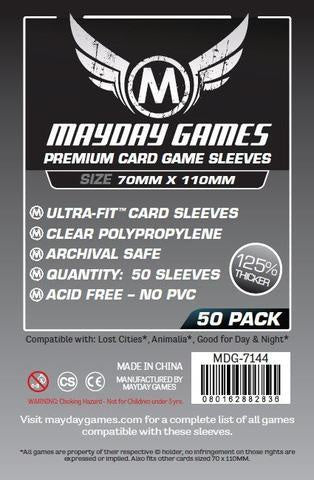 Sleeves: Mayday - Magnum - Lost Cities (x50)