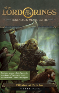 Lord of the Rings: Journeys in Middle-Earth - Villains of Eriador