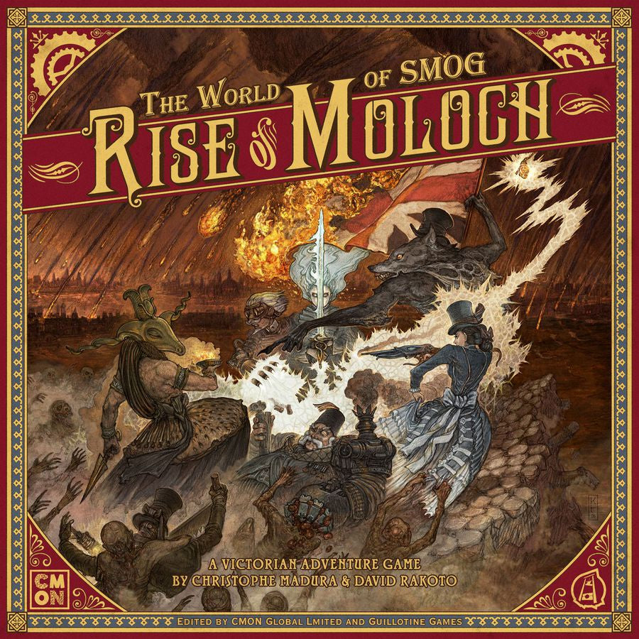 The World of SMOG: Rise of Moloch (لعبة المجسمات)